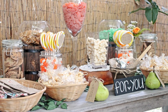 Dessert table / lolly bar